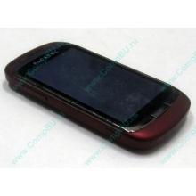 Красно-розовый телефон Alcatel One Touch 818 (Череповец)