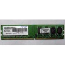 Модуль оперативной памяти 4Gb DDR2 Patriot PSD24G8002 pc-6400 (800MHz)  (Череповец)