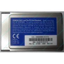 Сетевая карта 3COM Etherlink III 3C589D-TP (PCMCIA) без LAN кабеля (без хвоста) - Череповец